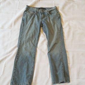 Calvin Klein womens low rise bootcut size 8